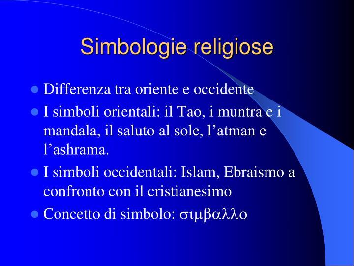 Simbologie religiose