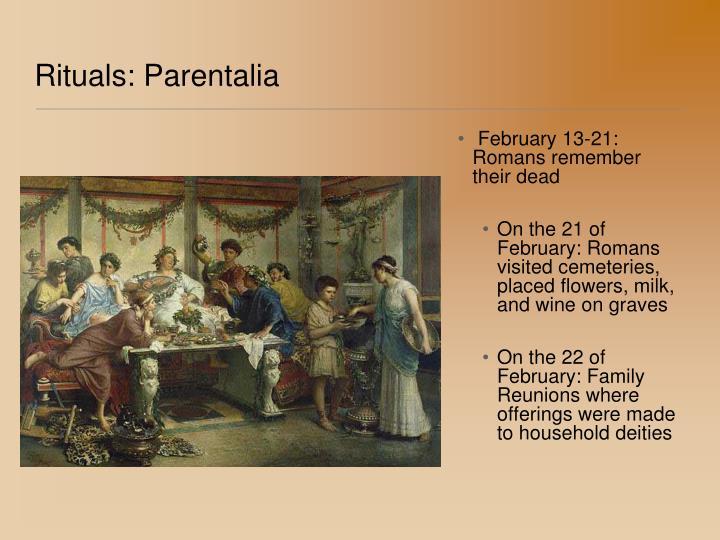 Rituals: Parentalia