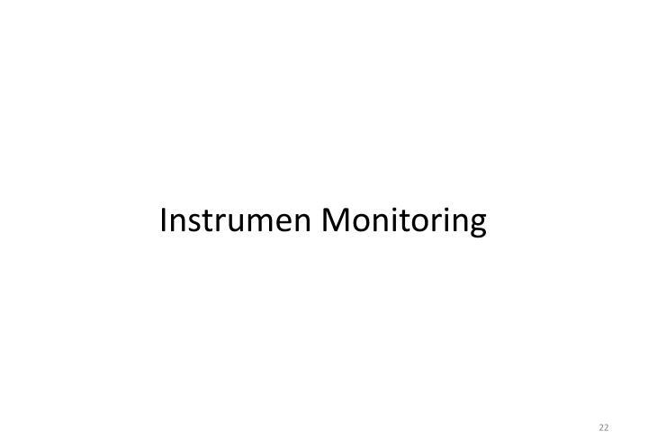 Instrumen Monitoring