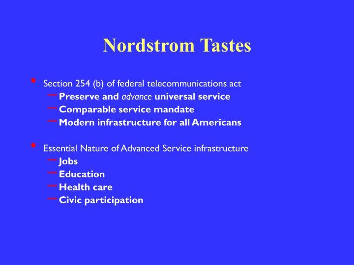 Nordstrom Tastes