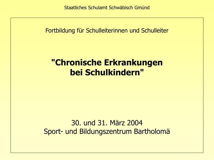 Staatliches Schulamt Schwäbisch Gmünd