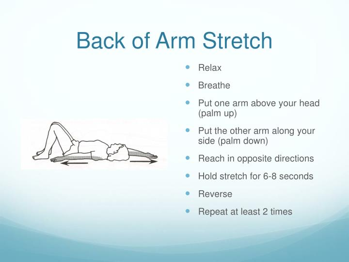 Back of Arm Stretch