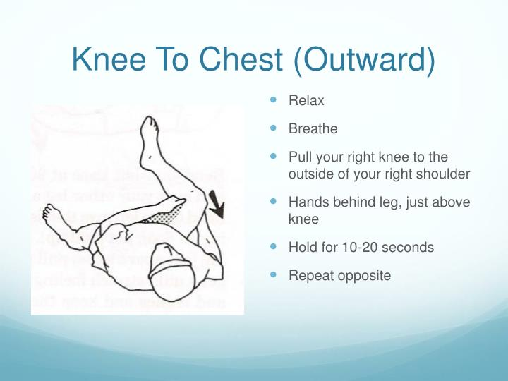 Knee To Chest (Outward)