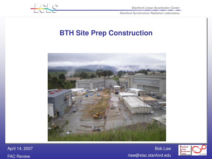 BTH Site Prep Construction