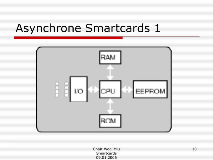 Asynchrone Smartcards 1