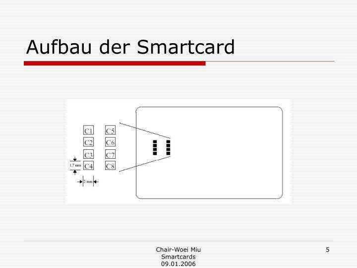 Aufbau der Smartcard