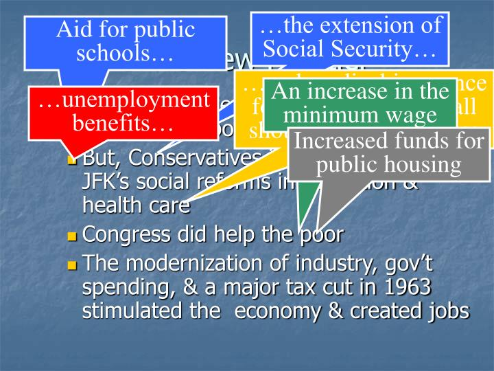 …the extension of Social Security…