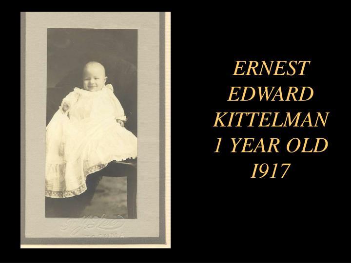ERNEST EDWARD KITTELMAN