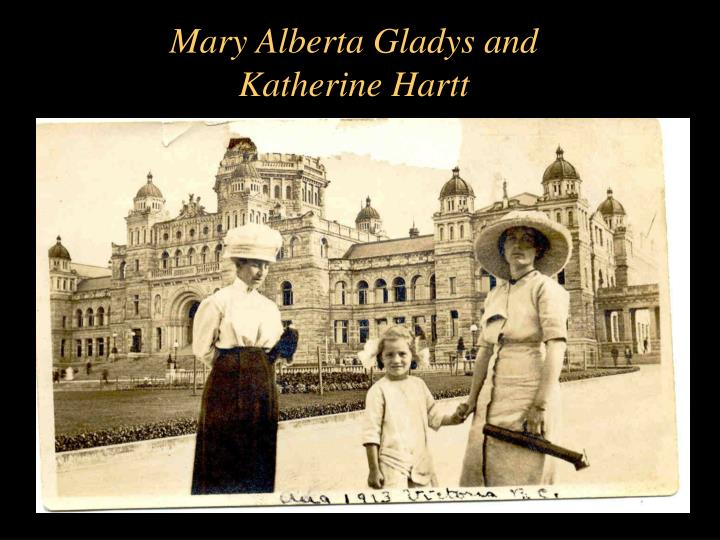 Mary Alberta Gladys and