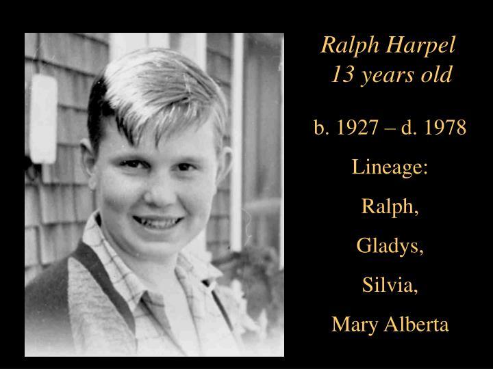 Ralph Harpel