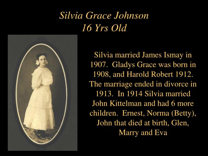 Silvia Grace Johnson