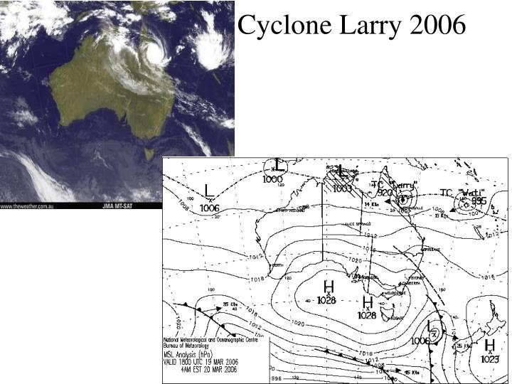 Cyclone Larry 2006