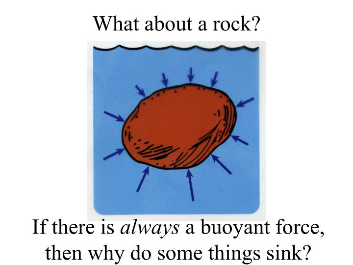 What about a rock?