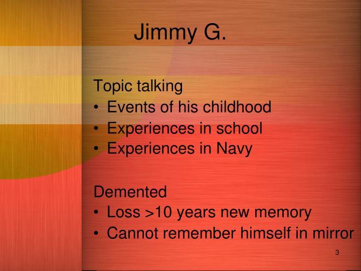 Jimmy G.