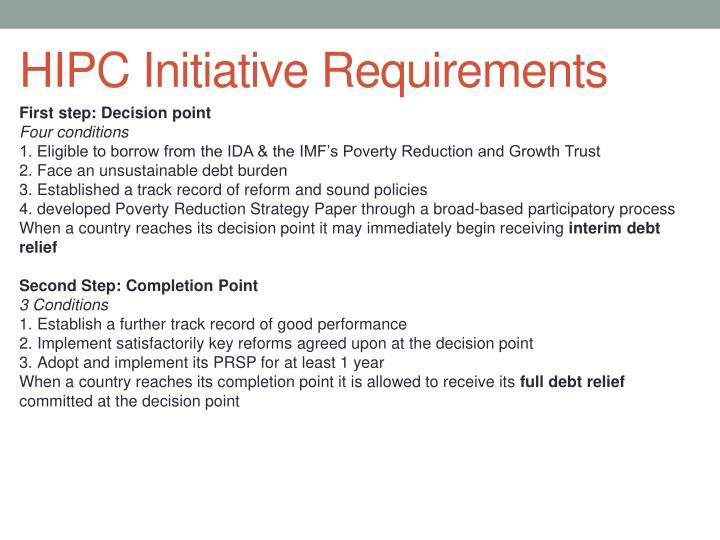 HIPC Initiative