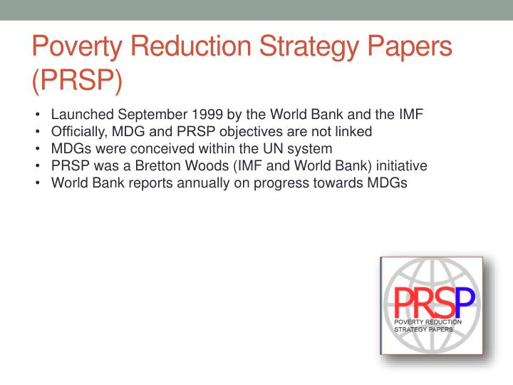 Poverty Reduction Strategy Papers (PRSP)