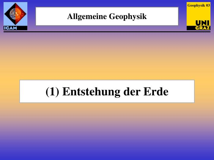 Geophysik 03