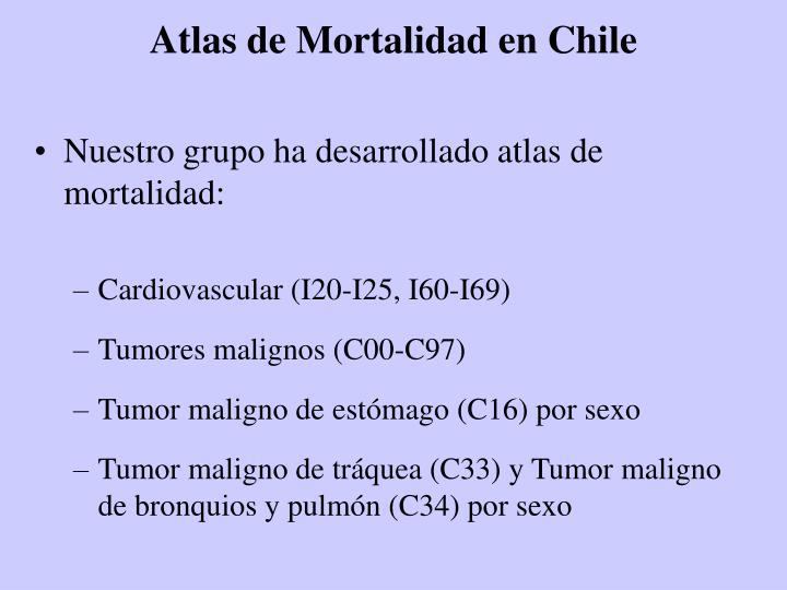 Atlas de Mortalidad en Chile