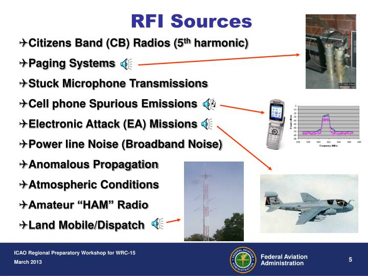 RFI Sources