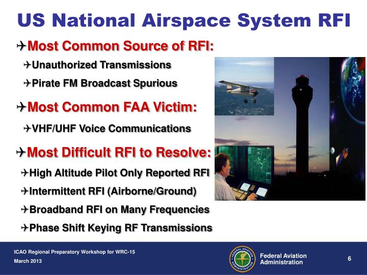 US National Airspace System RFI