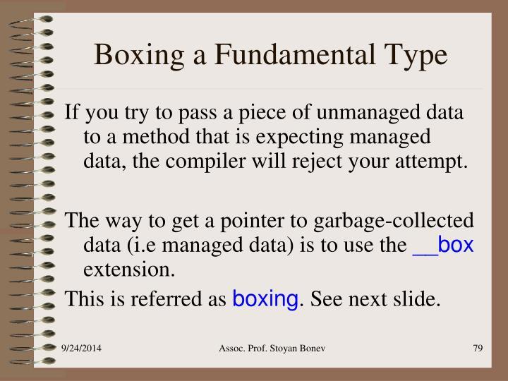 Boxing a Fundamental Type