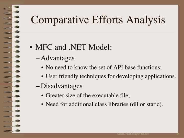 Comparative Efforts Analysis
