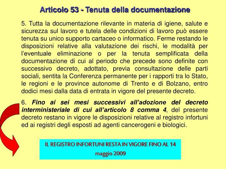 Articolo 53 -