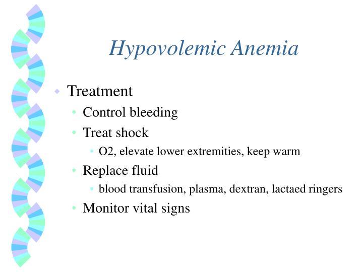 Hypovolemic Anemia