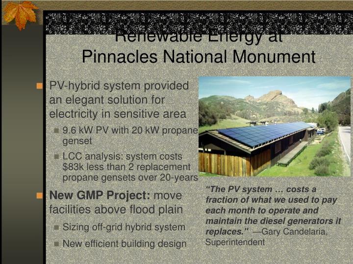 Renewable Energy at