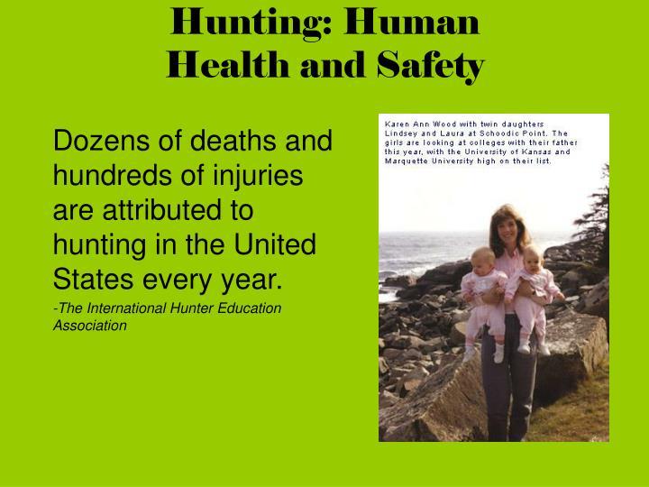 Hunting: Human