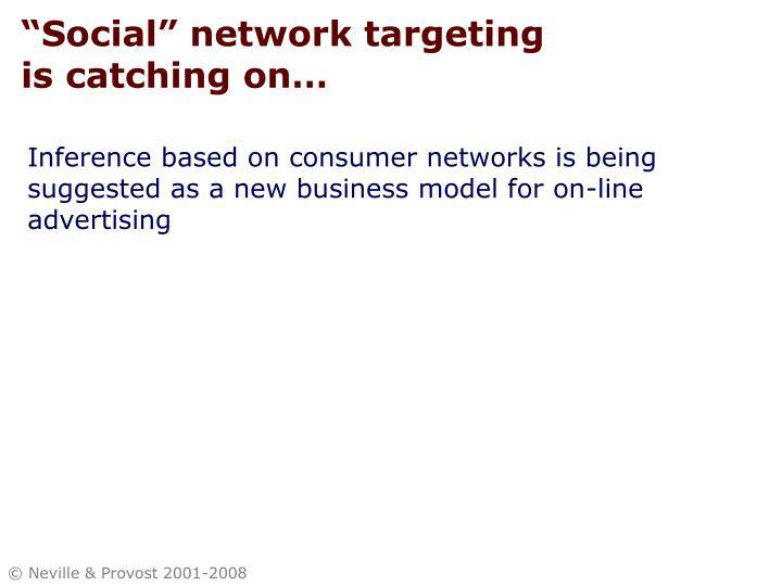 """Social"" network targeting"