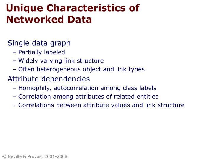Unique Characteristics of