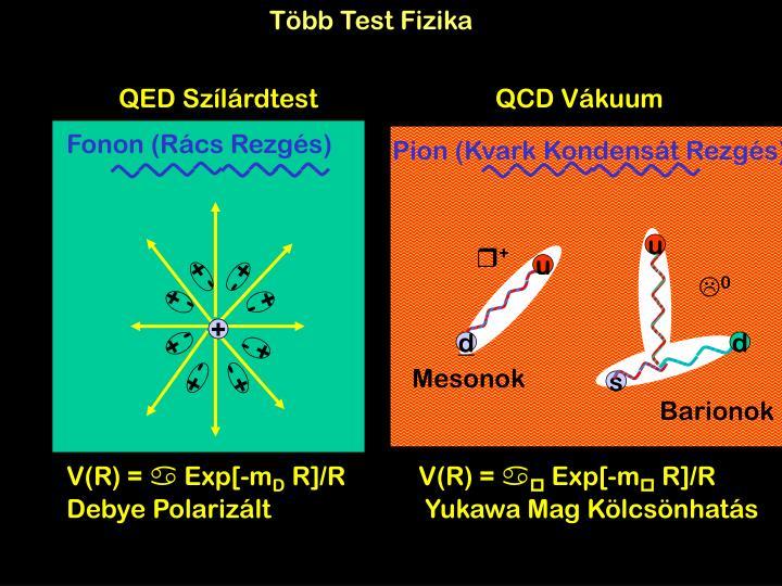 Több Test Fizika