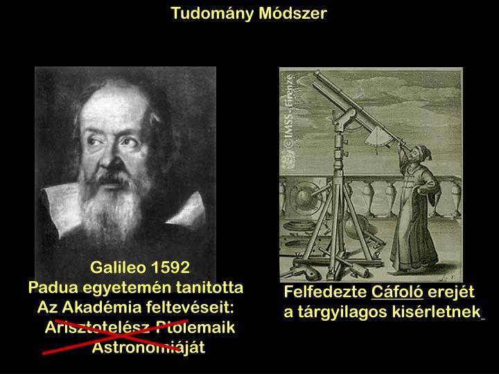 Tudomány Módszer