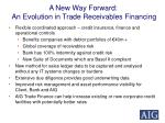 a new way forward an evolution in trade receivables financing