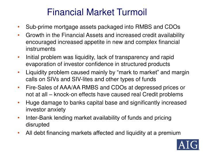 Financial Market Turmoil
