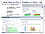 more effective trade receivables financing1