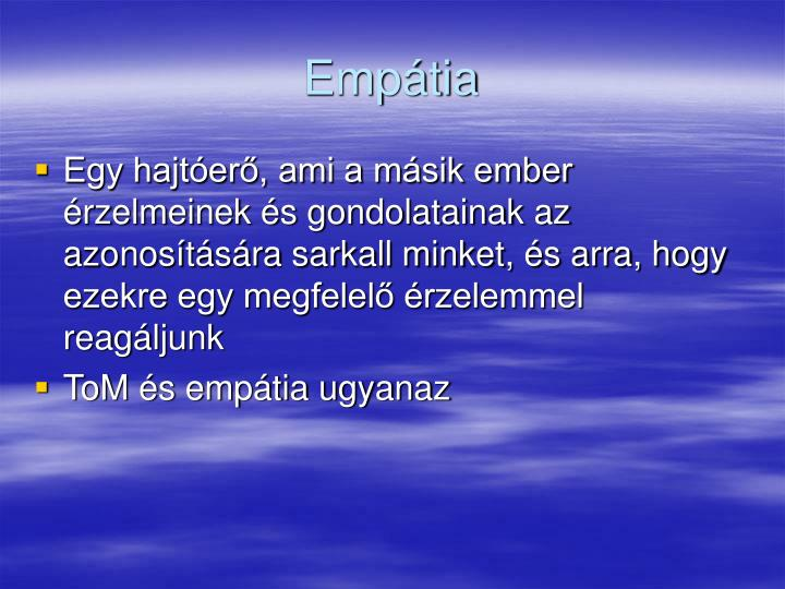 Empátia