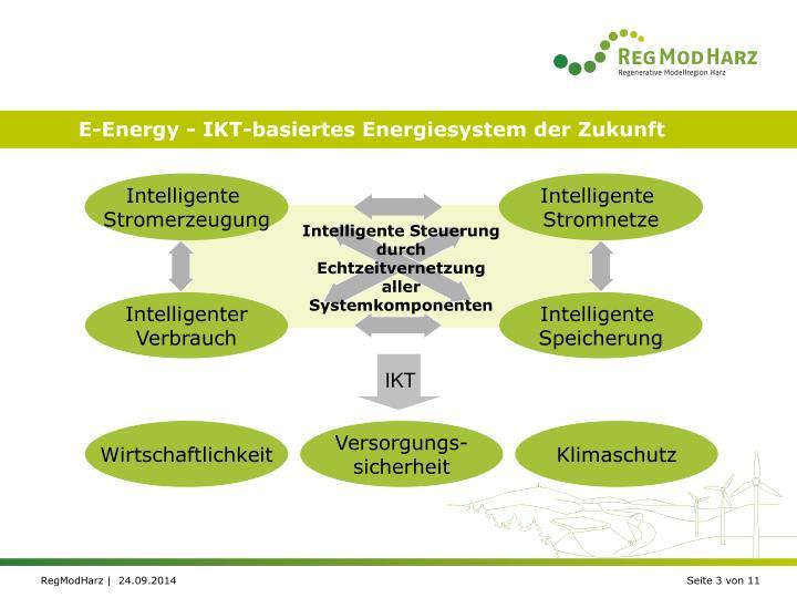 E-Energy - IKT-basiertes Energiesystem der Zukunft