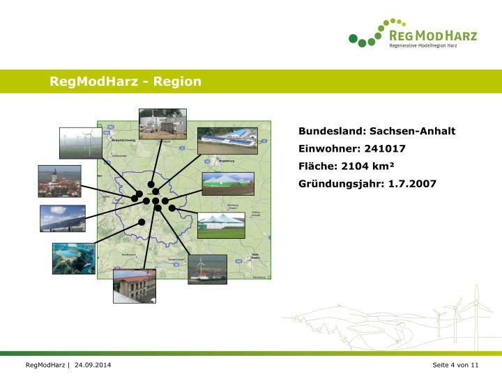 RegModHarz - Region