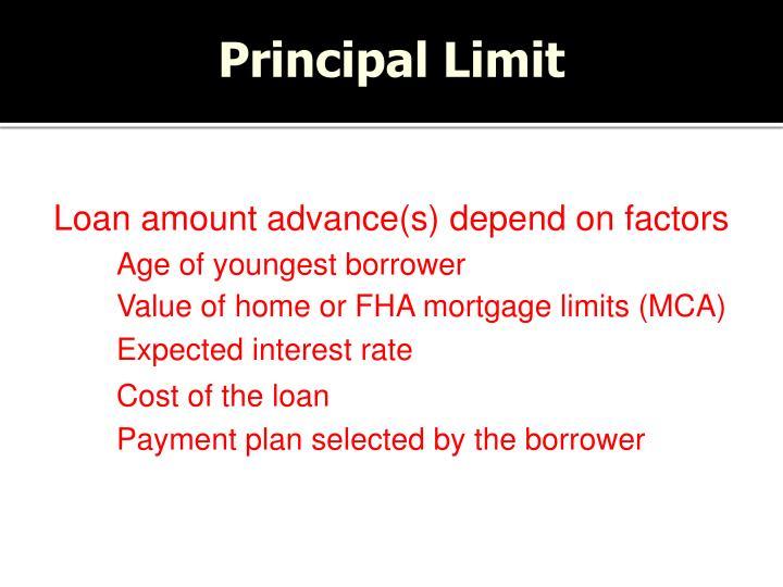 Principal Limit