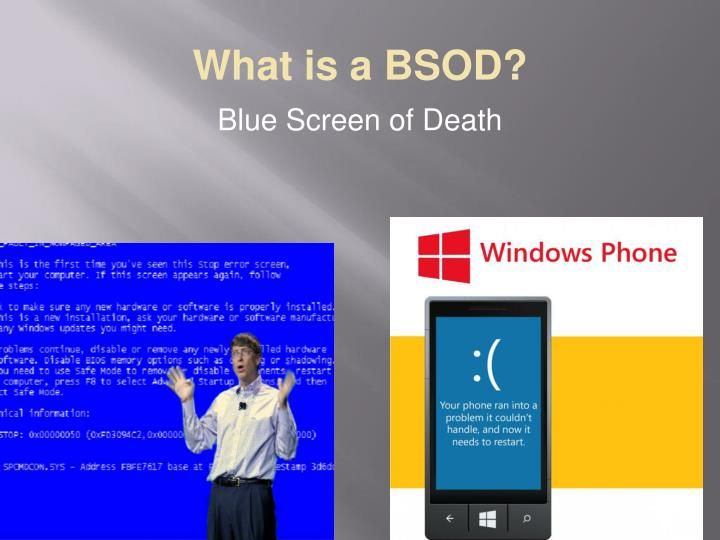 What is a bsod