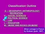 classification outline1
