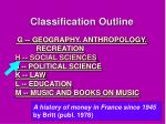 classification outline2