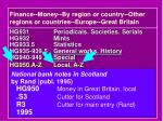 finance money by region or country other regions or countries europe great britain