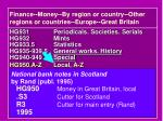 finance money by region or country other regions or countries europe great britain1
