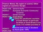 finance money by region or country other regions or countries europe3