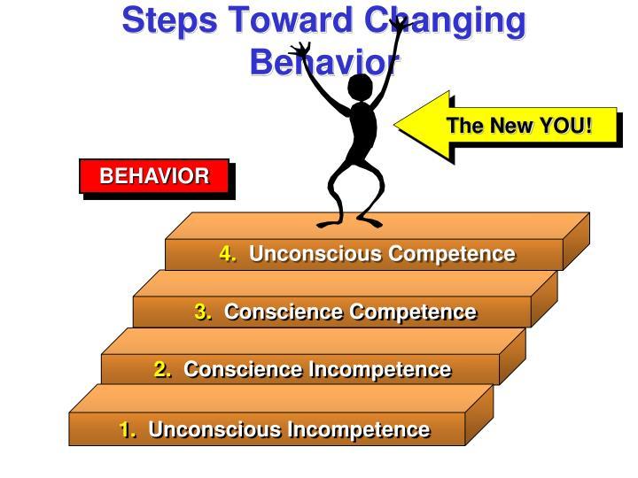 Steps Toward Changing Behavior