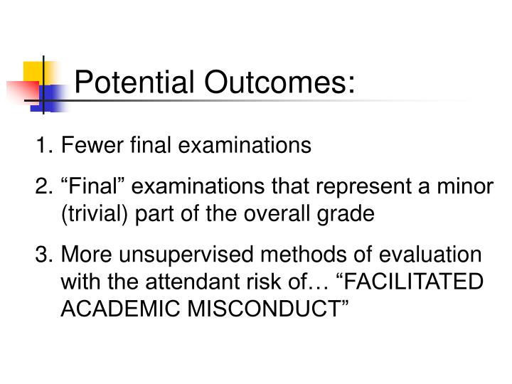 Potential Outcomes: