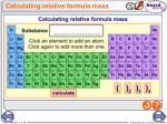 calculating relative formula mass